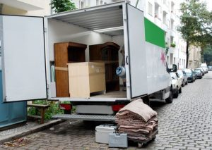 moving truck to storage units local move