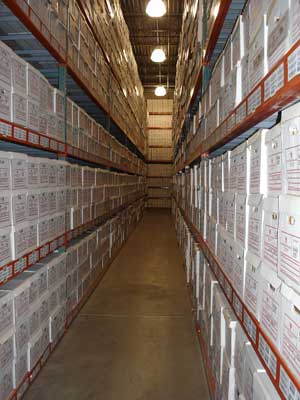 Business Document Storage